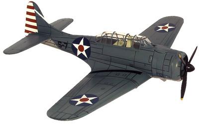 SBD-3 Dauntless, Islas Marianas, 1942, 1:72, Altaya