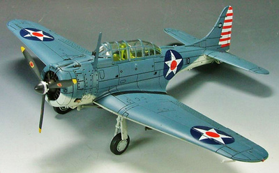 "SBD-3 Dauntless VS-5, USS Yorktown ""Battle of Coral Sea"", 1942, 1:72, Hobby Master"