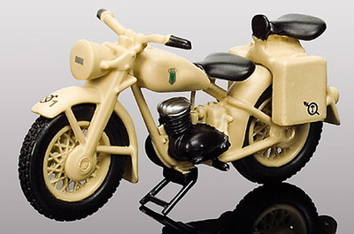 SCHUCO, DKW RT125 AFRICA CORPS, 1:60 APROX.