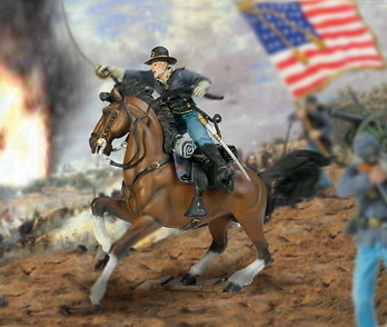 SOLDADO GUERRA CIVIL AMERICANA, 1:32, Forces of Valor