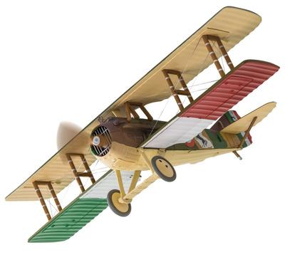 SPAD XIII, S2445, Mayor Francesco Baracca, 91st Squadriglia, Fuerza Aérea Italiana, Abril, 1918, 1:48, Corgi