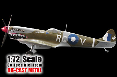 "SPITFIRE MK.IX, ""Grey Nurse "", 1:72, Witty Wings"