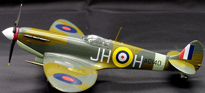 SPITFIRE MKV, RAF 317 SQN, POLISH 1941, 1:72, Witty Wings