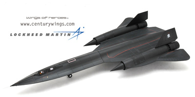 SR-71 Blackbird U.S.A.F, 9th SRW 61-7958, 1990, 1:72, Century Wings