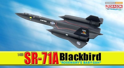 "SR-71A Blackbird, ""Rosemary's Baby-San"", 1:400, Dragon Wings"