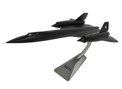 "SR-71A Blackbird 61-7976, ""Snarling Cat"", 9th Strategic Reconnaissance Wing, Beale AFB, California, 1:72, Air Force One"
