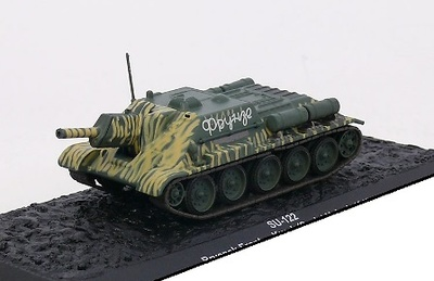 SU-122, Bryansk Front, Kursk (Soviet Union) 1943 1:72, Altaya
