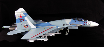 "SU-27 Flanker, Russian Air Force, ""Red 07 Evil Eye"", 1:72, Witty Wings"