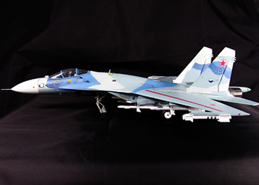 SU-27 Flanker, Russian Airforce Blue 38 'Evil Eye', 1:72, Witty Wings