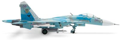 SU-27 Sukoi, Ukraine Air Force, 831st IAP, 1:200, Herpa