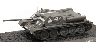 SU-85, 13th Polish Artillery Regiment, Berlin 1945, 1:72, Altaya