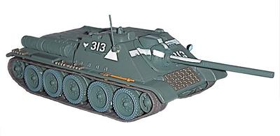 SU-85, tanque soviético, 1:72, DeAgostini