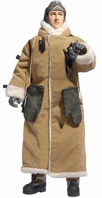 Sargento Anton Bohm, WH Sentry Duty NCO, 21.Infanterie-Division Heeresgruppe, Leningrado, 1942-43, 1:6, Dragon Figures