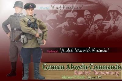 "Sargento ""Kurt Kepplinger a.k.a. Andrei Ivanovich Kuzman"", Batallón ""Brandenburg"", Maikop, Agosto, 1941, 1/6, Dragon Figures"