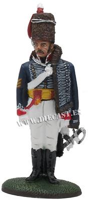 Sargento Mayor, 15º Regimiento de Húsares, G.B., 1808, 1:30, Del Prado