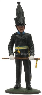 Sargento Mayor, Brunswick Leib-Bataillon, 1815, 1:30, Del Prado