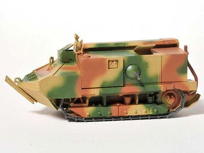 Schneider CA1, 1st Armoured, France, 1916, 1:72, Wespe Models