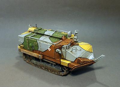 Schneider CA1 Tank, Late Version,  Francia, 1916-18, 1:30, John Jenkins