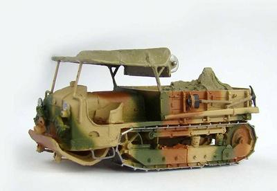 Schneider CD, Vehículo de Recuperación, Francia, 1918, 1:72, Wespe Models