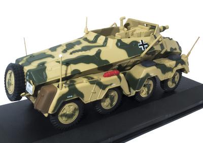 Schwerer Panzerspähwagen Sd.Kfz.233, 2. Pz.Div., Falaise (Francia), 1944, 1:43, Atlas
