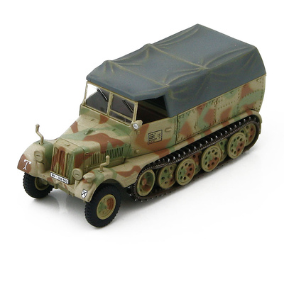 Sd. Kfz. 11 German 3 ton Half Track, Werfer Brigade 5, Italia, 1944, 1:72, Hobby Master