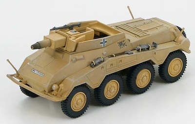 Sd. Kfz. 234/3 116th Panzer Division, Normandy, Autumn 1944, 1:72, Hobby Master