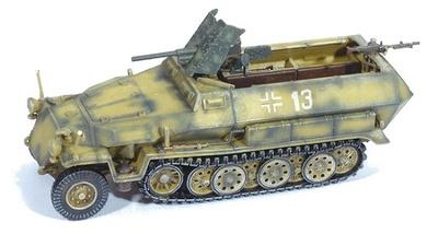 Sd. Kfz. 251/10 C, w/3,7 PACK, El Alamein, 1942, 1:72, Dragon Armor