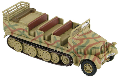 Sd. Kfz. 7 German 8 Ton Half Track, WL605030, WW2, 1:72, Hobby Master