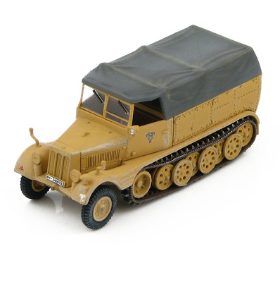 "Sd. Kfz.11 German 3-ton Half-Track 15th Panzer Div., North Africa ""WH-240079"", 1:72, Hobby Master"