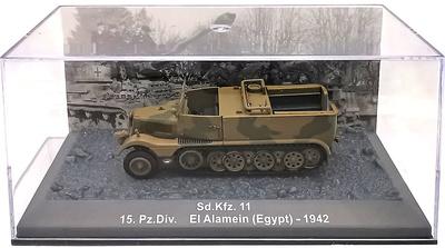 Sd.Kfz. 11, 15. Pz.Div., El Alamein (Egipto), 1942, 1:72, Altaya