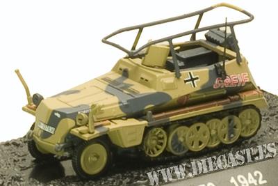 Sd.Kfz. 250, 1942, 1:72, Blitz 72