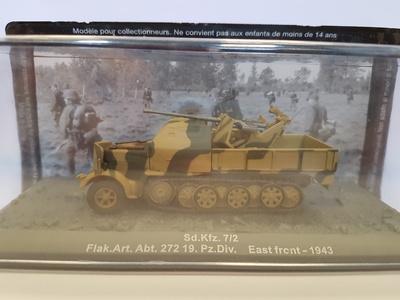 Sd.Kfz. 7/2 Flak.Art.Abt. 272 19.Pz.Div. East Front, 1943, Altaya