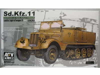 Sd.Kfz.11, German 3ton Half-Track, 1:35, AFV Club