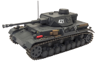 Sd.Kfz.161 Panzer IV Ausf. G, 14.PzDiv, 1:43, Eaglemoss