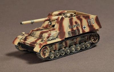Sd.Kfz.165 Hummel, Normandía, 1944, 1:72, War Master