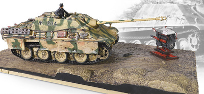 Sd.Kfz.173 Jagdpanther Ausf.G1 (con zimmerit), Batalla de Normandía, 1944, 1:32, Forces of Valor