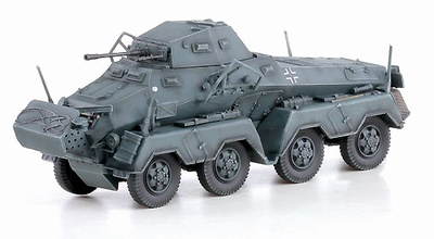 Sd.Kfz.231, Frente del Este, 1941, 1:72, Dragon Armor