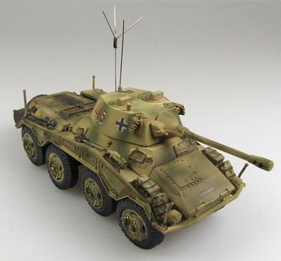 """Sd.Kfz.234/2 """"Puma"""", unidad no identificada, Francia, 1944, 1:72, Panzerstahl"""