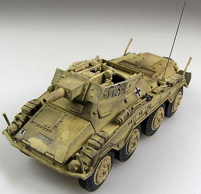 Sd.Kfz.234/3 Puma, 3.Panzer Div., Hungría, Febrero, 1945, 1:72, Panzerstahl