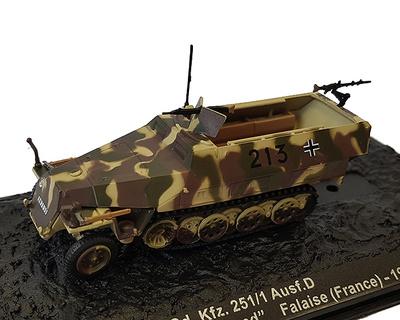 Sd.Kfz.251/1, Ausf.D, 12.SS-Pz.Div. Hitlerjudeng, Falaise, 1944,  1:72, Altaya