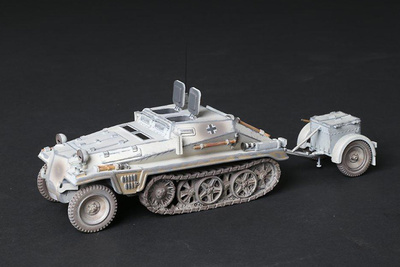 Sd.Kfz.252 con remolque de munición, 9th Panzer Division, 1944, 1:30, Thomas Gunn
