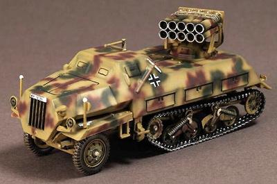 Sd.Kfz.4/1 Panzerwefer 42, Normandy, 1944, 1:72, War Master