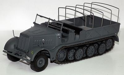Sd.Kfz.9 Famo, 18 ton Half track, 1:43, Atlas