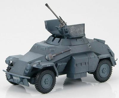 SdKfz 222. Leichter Panzerspahwagen (4X4) 1st Company, 4th Kradschutzen Bttn., 24th Panzer Div., 1:48, Hobby Master