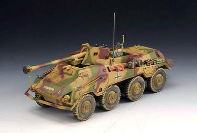 SdKfz 234/4, Normandía, 1944, 1:30, Thomas Gunn