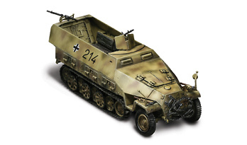 SdKfz. 251/1 Hanomag, Normandy, 1944, 1:32, Forces of Valor