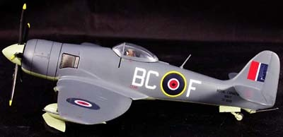 Sea Fury FB.11, 803 Sqn Royal Canadian Navy, 1:72, Witty Wings