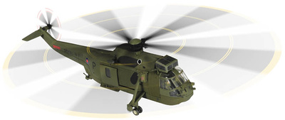 Sea King HC4 - 846 NAS, Commando Force, Joint Helicopter Force, Kandahar Air Field, Afghanistan 2008, 1:72, Corgi