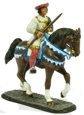 Secretario de la Guardia,  Caballería Inglesa, 1520-1540, 1:30, Del Prado