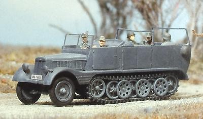 Semi oruga 3 Ton. Sdkfz 11, Alemania 1939-45, 1:87, Preiser